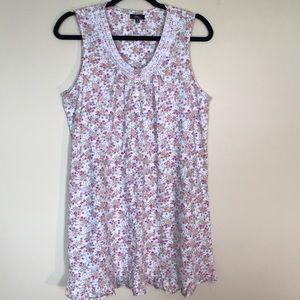Aria Intimates & Sleepwear - ARIA collection 60/40 cotton/poly night gown.EUC